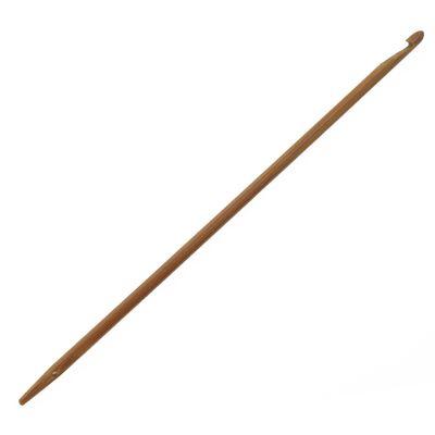 Knooking Nadel Bambus - Häkeln wie gestrickt 3,5 mm Häkelnadel Knookingnadel