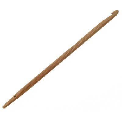 Knooking Nadel Bambus - Häkeln wie gestrickt Stärke 5 mm – Bild 1