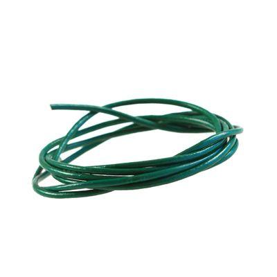 1 m Lederband rund, ø 2 mm - Lederschnur Rind, freie Farbwahl – Bild 10