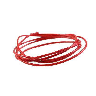 1 m Lederband rund, ø 2 mm - Lederschnur Rind, freie Farbwahl – Bild 9