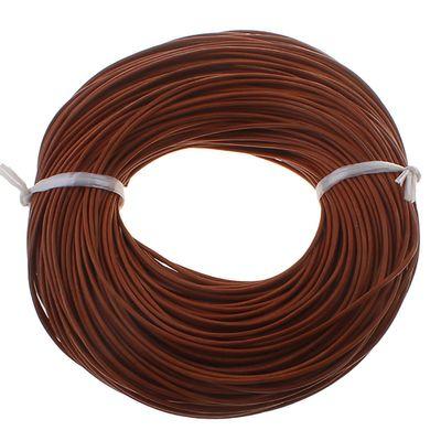 10m Lederband rund ø 1 o. 2 mm Farbwahl Lederriemen Lederschnur Rind Rindslederschnur – Bild 11