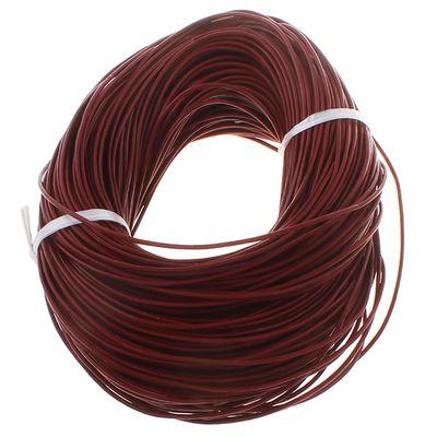 10m Lederband rund ø 1 o. 2 mm Farbwahl Lederriemen Lederschnur Rind Rindslederschnur – Bild 12