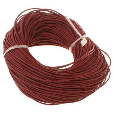 10m Lederband rund ø 1 o. 2 mm Farbwahl Lederriemen Lederschnur Rind Rindslederschnur – Bild 15
