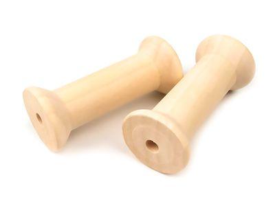 2 Holzspulen 36x80mm – Bild 1