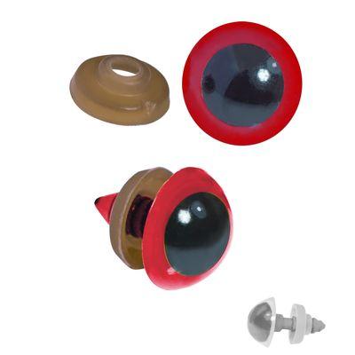 20 Paar Sicherheits-Augen 16mm, Kunststoff, Puppen, Teddies, Amigurumi, Farbwahl – Bild 3