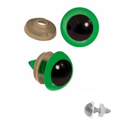 20 Paar Sicherheits-Augen 16mm, Kunststoff, Puppen, Teddies, Amigurumi, Farbwahl – Bild 5