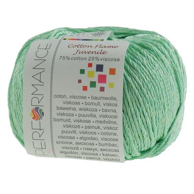 Strickgarn Cotton Flame Juvenile 50g #140 grün