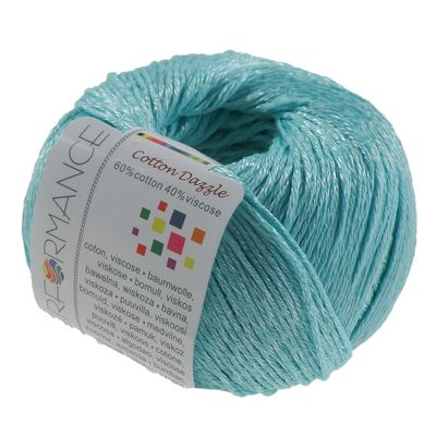 Strickgarn Cotton Dazzle 50g #122 hellblau