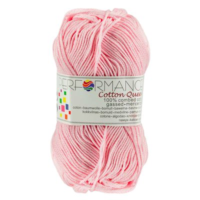 Strickgarn Cotton Queen 50g #0152 rosa