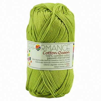 Strickgarn Cotton Queen 50g #0134 grün