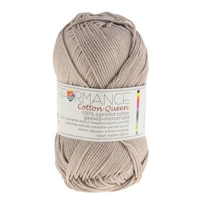 Strickgarn Cotton Queen 50g #0171 stone