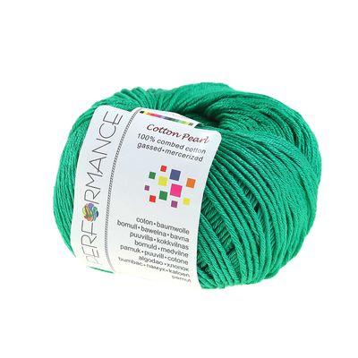 Strickgarn Cotton Pearl 50g #432 grün