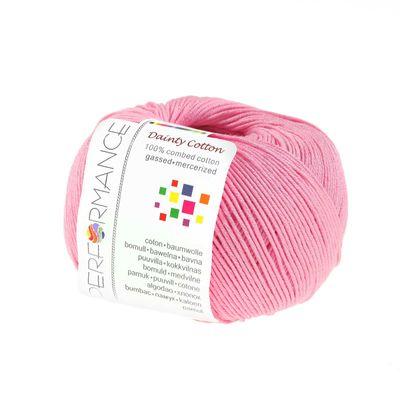 Strickgarn Dainty Cotton 50g #32 rosa – Bild 1