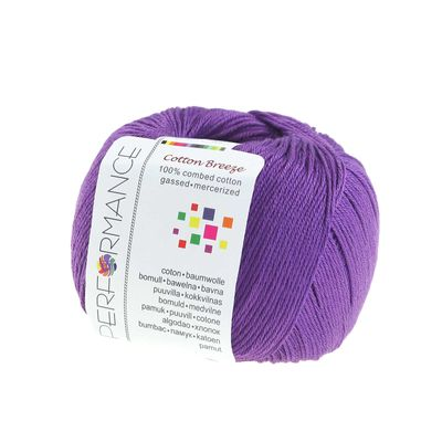 Strickgarn Cotton Breeze 50g #57 violett