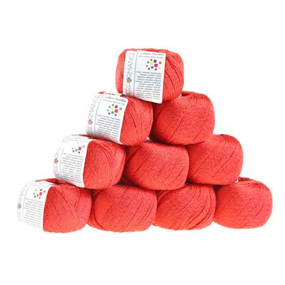 Strickgarn Cotton Twinkle 50g #17 dry rose  – Bild 2