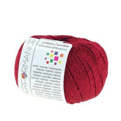 Strickgarn Cotton Twinkle 50g #20 fuchsia