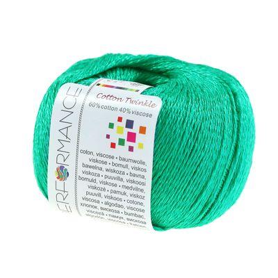 Strickgarn Cotton Twinkle 50g #141 grün