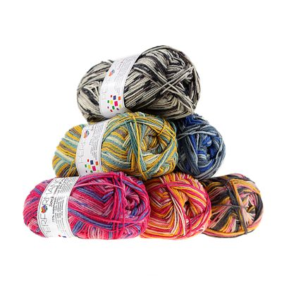 Sockenwolle Sockwool Prime Multi 50g #17514 – Bild 4