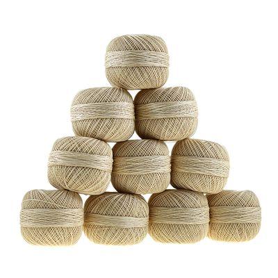 Häkelgarn Cotton Freedom 50g #0000 creme – Bild 3