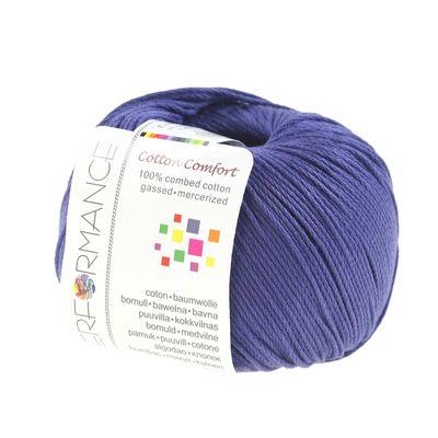 10 x 50g Strickgarn Cotton Comfort, #75 violett – Bild 2