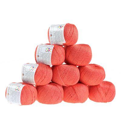10 x 50g Strickgarn Cotton Twinkle, #13 lachs