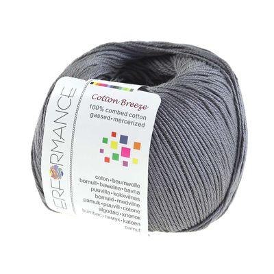10 x 50g Strickgarn Cotton Breeze, #235 grau – Bild 2