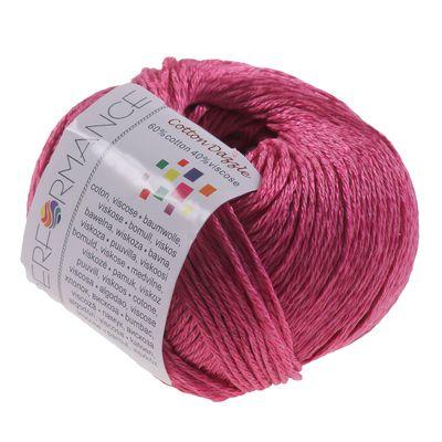 10 x 50g Strickgarn Cotton Dazzle  #34 rosa – Bild 2