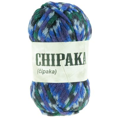 5 x 100g Strickgarn CHIPAKA No. 21 fantasia – Bild 1