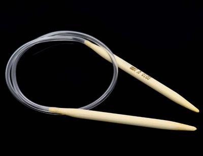 Bambus Rundstricknadel Größe 6,0 mm, 40 cm