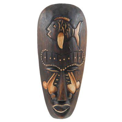 Maske PLA Albesia - Holz 20cm
