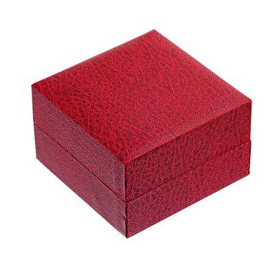 1 Geschenkbox, rot 10 x 10cm, Geschenkschachten Schmuckbox Schmuckschachtel – Bild 1