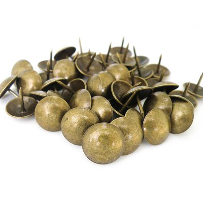 1000 Polsternagel Ziernagel, 16x15mm, bronze, antik – Bild 1