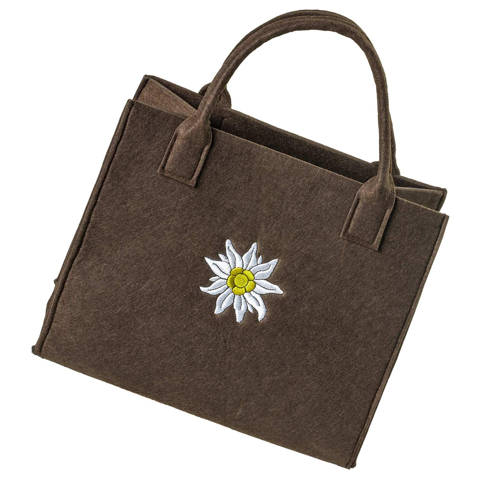 Filztasche 35x20x43cm Einkaufstasche Handtasche Shopper 2-farbig o. Motiv – Bild 9