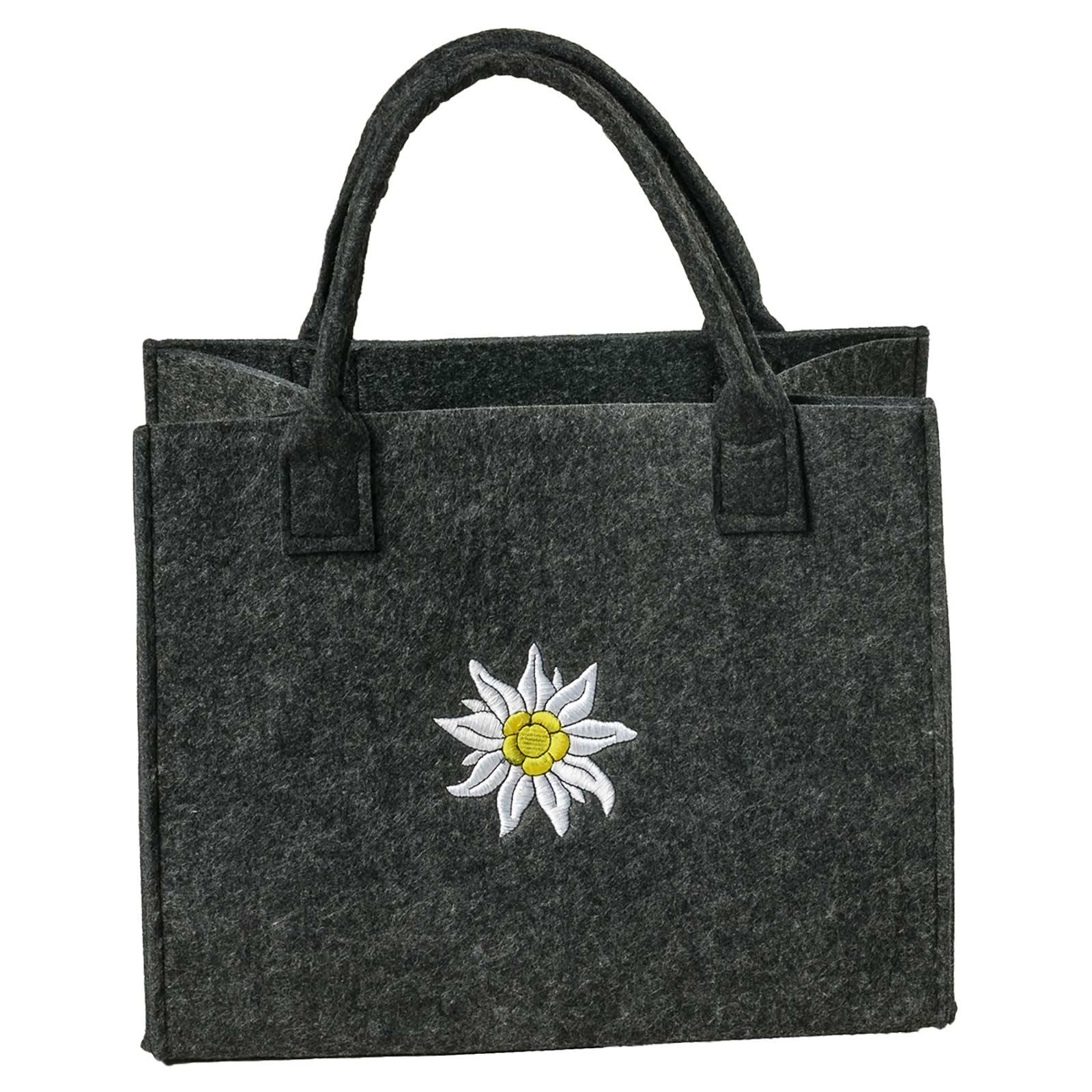 Filztasche 35x20x43cm Einkaufstasche Handtasche Shopper 2-farbig o. Motiv – Bild 13