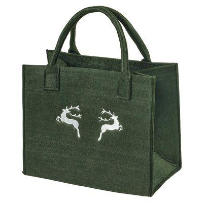 Filztasche 35x20x43cm Einkaufstasche Handtasche Shopper 2-farbig o. Motiv – Bild 18