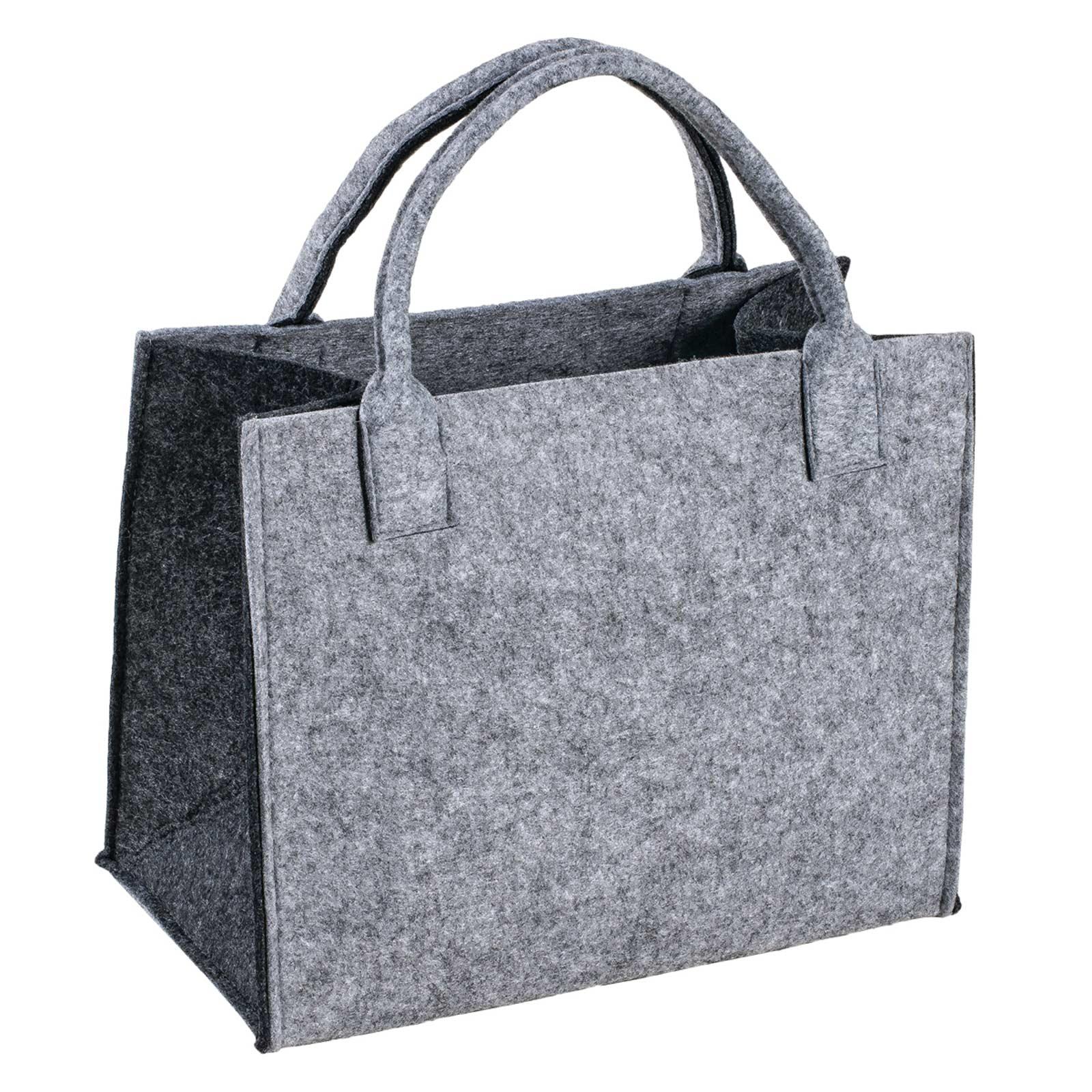 Filztasche, 35x20x43cm, zum gleich Benutzen oder Aufhübschen, 5mm Materialstärke – Bild 3