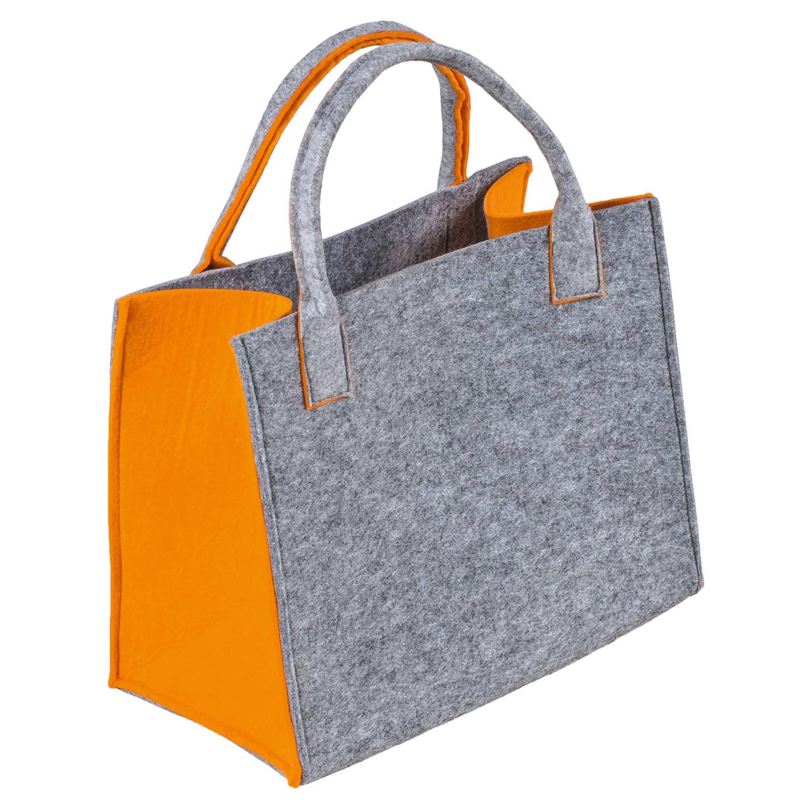 Filztasche, 35x20x43cm, zum gleich Benutzen oder Aufhübschen, 5mm Materialstärke – Bild 5