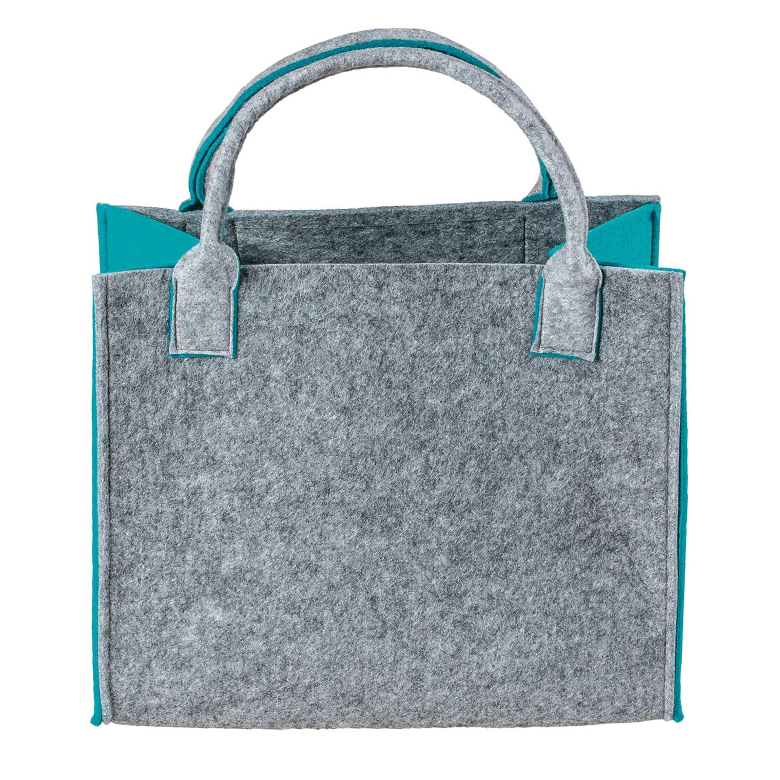 Filztasche, 35x20x43cm, zum gleich Benutzen oder Aufhübschen, 5mm Materialstärke – Bild 7