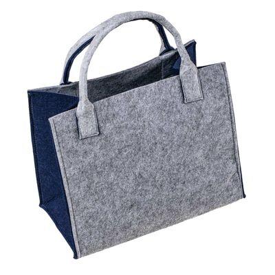 Filztasche, 35x20x43cm, zum gleich Benutzen oder Aufhübschen, 5mm Materialstärke – Bild 2