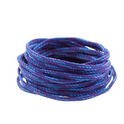 3m Polyesterschnur 4mm mehrfarbig PES Kordel Polyesterkordel Flechtschnur  – Bild 8
