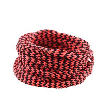 3m Polyesterschnur 4mm mehrfarbig PES Kordel Polyesterkordel Flechtschnur  – Bild 11