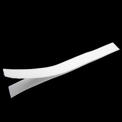 25 Paar Klettband-Streifen komplett zum Annähen 200x20mm schwarz o. weiß  – Bild 5