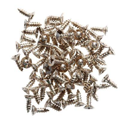 200 Senkkopf-Schrauben, Minischrauben, Blechschrauben, Größe u. Farbe wählbar – Bild 2