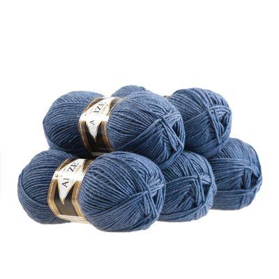 5 x 100g Strickgarn ALIZE Lanagold 49% Wolle, freie Farbwahl – Bild 6