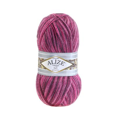 Strickgarn ALIZE Tig Color & Batik 25% Wolle, 100g, Farbvarianten multicolor – Bild 8