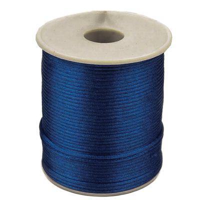 90m Satinschnur 2mm Satinkordel Schmuck-Kordel -Schnur Kumihimo Bänder, Farbwahl – Bild 12