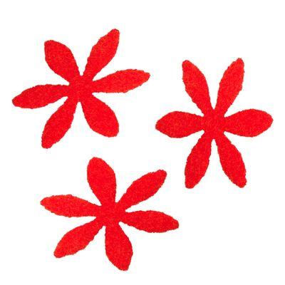 50 Filz Blüten, Streudeko, Tischdeko, in verschiedenen Farben, Motiv 2 – Bild 6