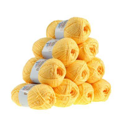 10 x 50g Strickgarn Wolle BIBINA by VLNIKA, freie Farbwahl – Bild 4