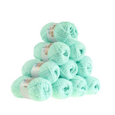 10 x 50g Strickgarn Wolle BIBINA by VLNIKA, freie Farbwahl – Bild 10