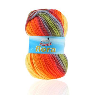 5 x 100g Farbverlaufs-Strickgarn Wolle Flora, verschiedene Farben – Bild 13